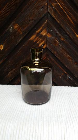 Vas, nova guld, h:18cm, greengate