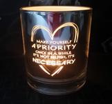 Priority, 9x10cm, silver, majas lyktor