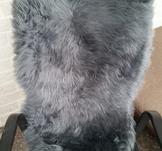 Fårskinnsfäll, grå 61x90-99cm