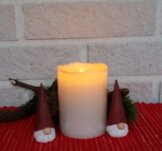 Eternity, candle, small, 7.5x10x7.5 cm
