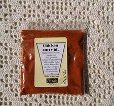 Krydda, Chicken curry bl. 40g, Aftek